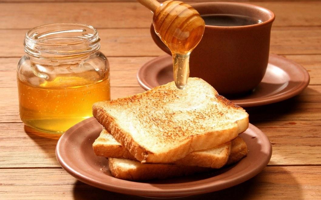 Хлеб с медом