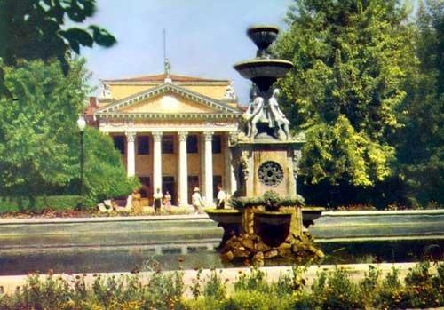 Dvorets studentov v 1950 e gody