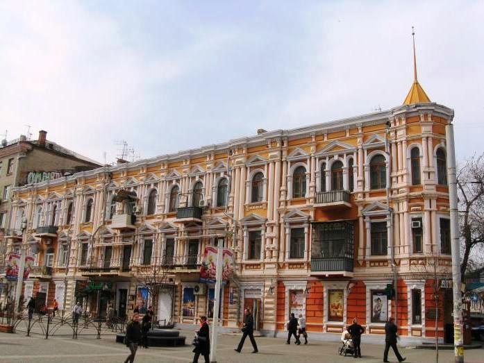 Ekaterinoslavskij dom utyug na Glinki 15