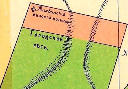 Les na plane 1915 goda