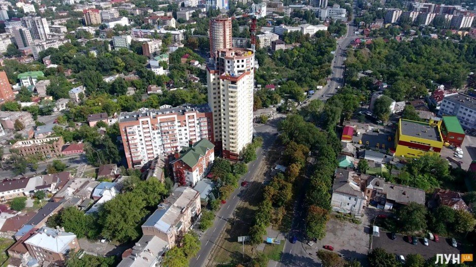 Novyj dom utyug CHkalovskij. 2018 god.