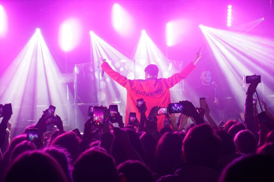 Концерт Melovin'a в Днепре: как это было