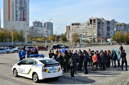 В Днепре прошёл марафон «Бежим вместе с полицией»