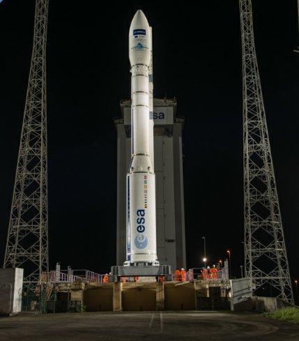 В США запустили спроектированную в Днепре ракету «Antares»
