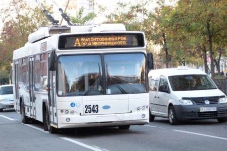 Как будет ходить транспорт в Днепре на День города