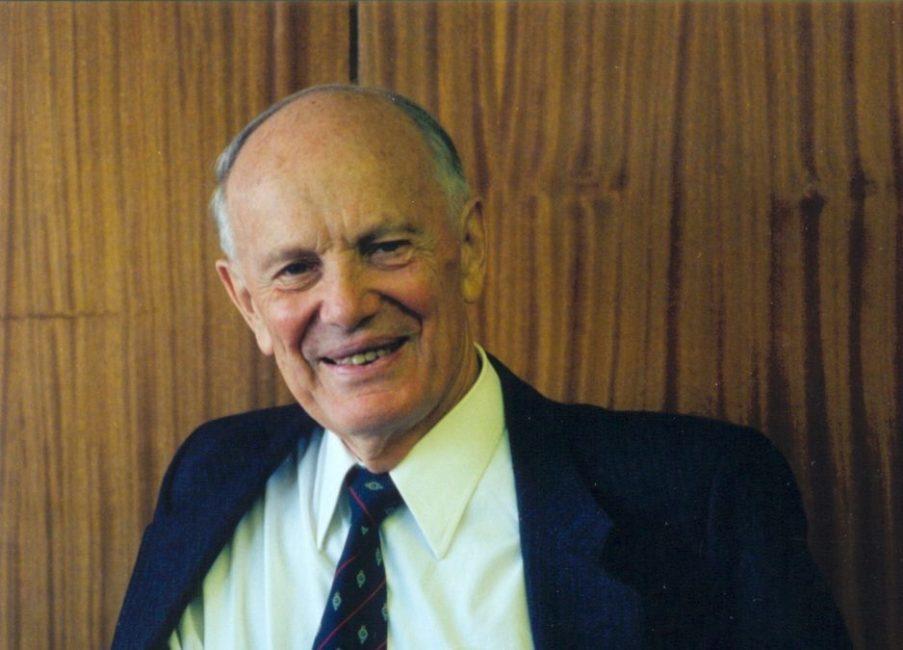 academician Borys Paton portrait photo
