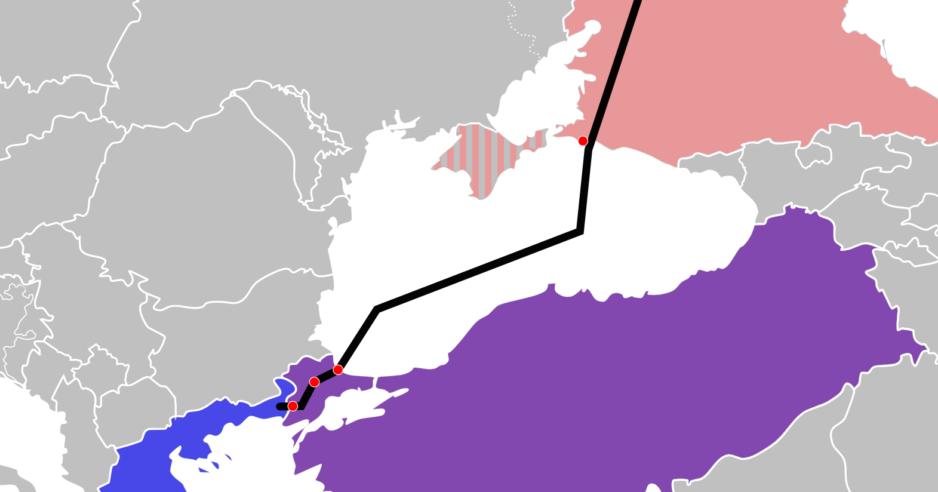 TurkStream Crimea disputed