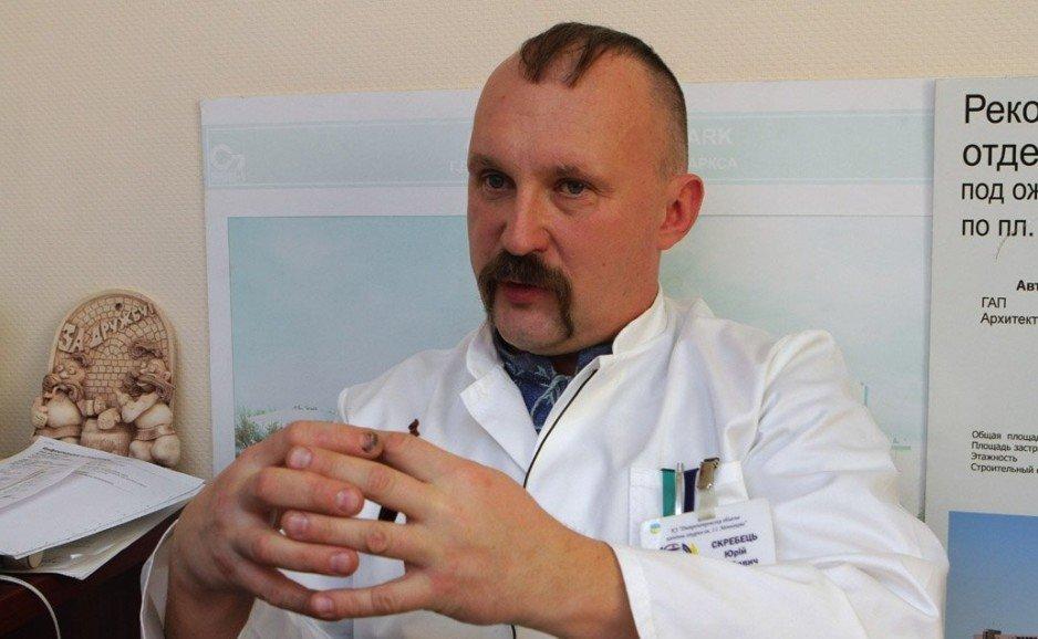 Юрій Скребець про роботу лікарні Мечникова – програма «Шах і мат»