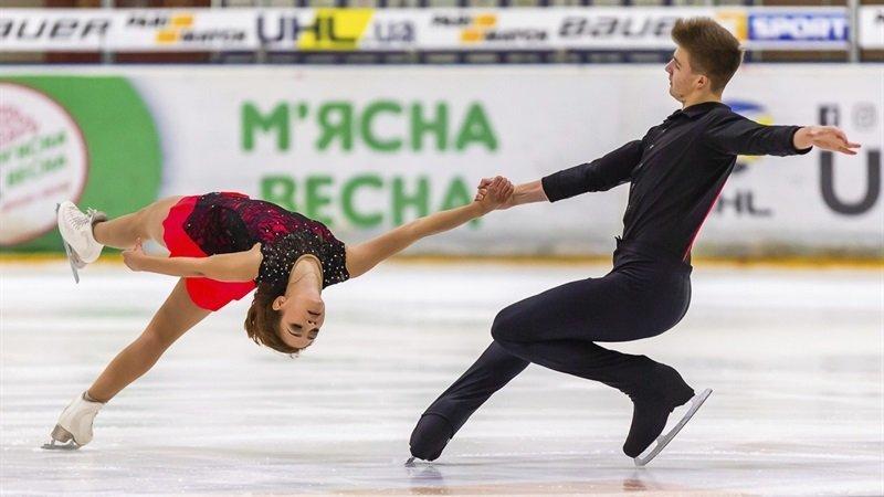 Днепровские фигуристы стали чемпионами Украины в парном катании
