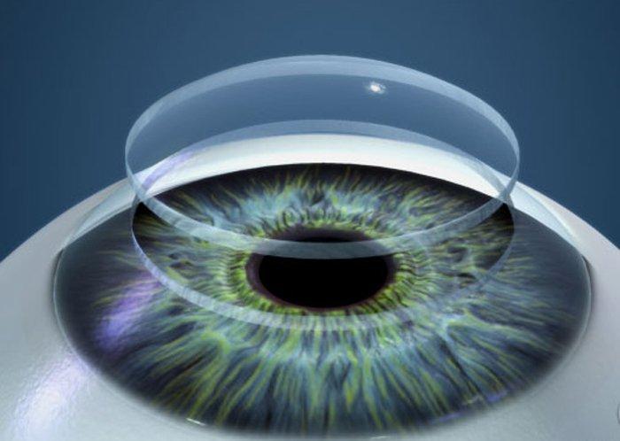 В Германии создали безвредные для глаз контактные линзы