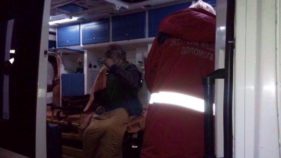 В Кривом Роге пожарные спасли человека