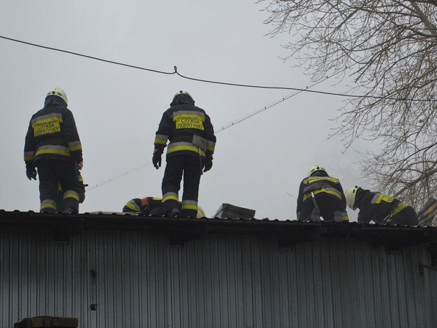 В АНД районе Днепра сгорел склад с водкой