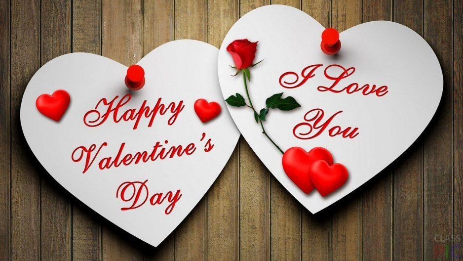 Valentinki na stene