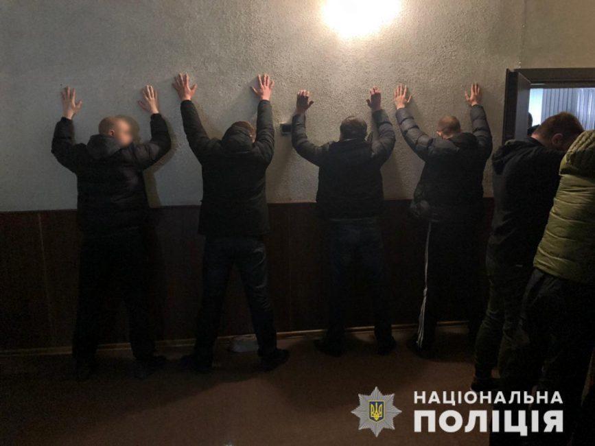 В Кривом Роге 200 полицейских прикрыли наркокартель