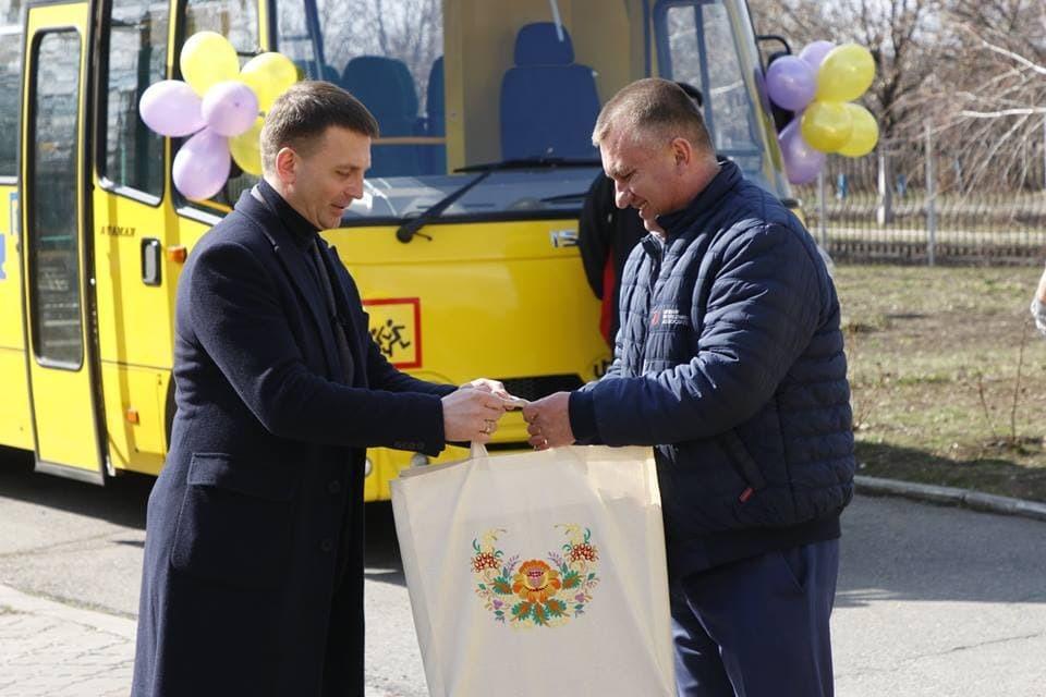 Глава Днепропетровского облсовета Глеб Пригунов посетил Николаевскую ОТГ