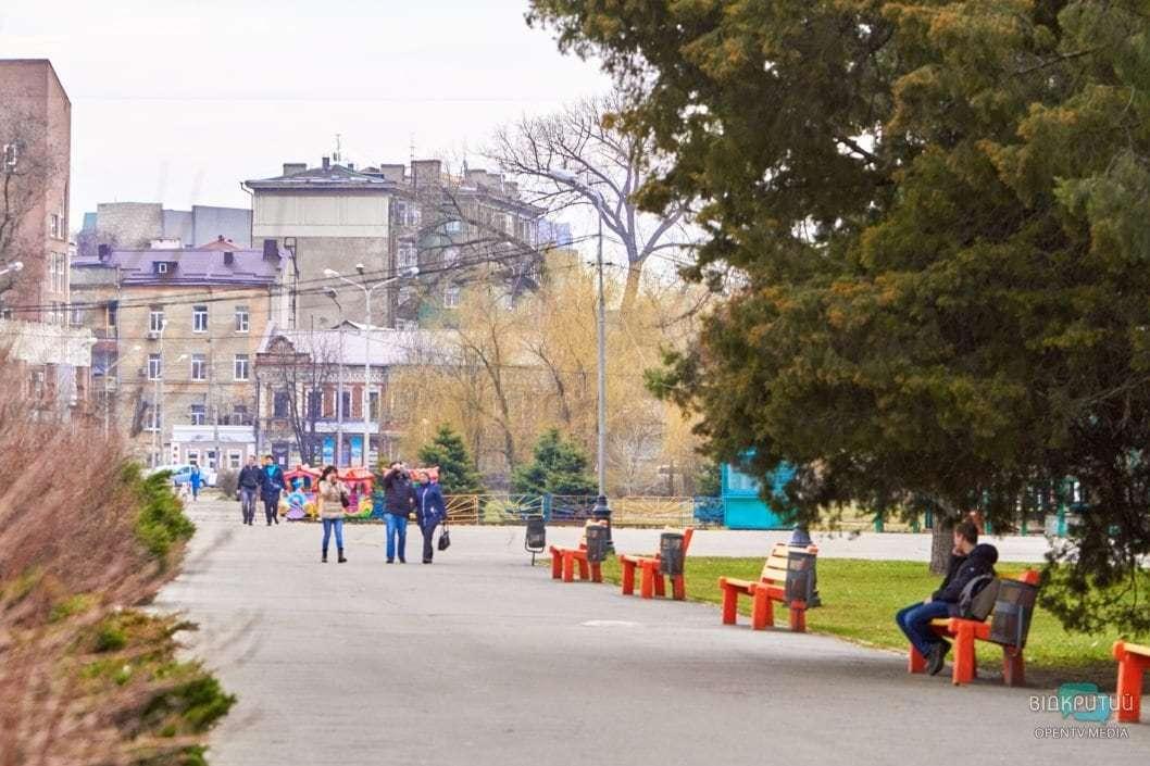 Врачи Днепра рекомендуют прогулки на свежем воздухе для поддержания иммунитета