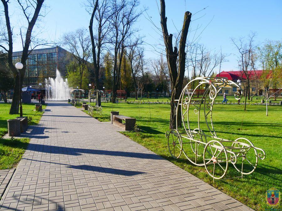 Парк Покрова дополнен новыми декорациями