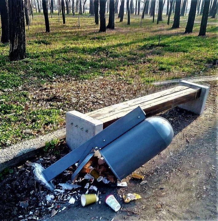 У парках пропонують впровадити «європейські» стандарти: збільшення кількості урн і сортування сміття
