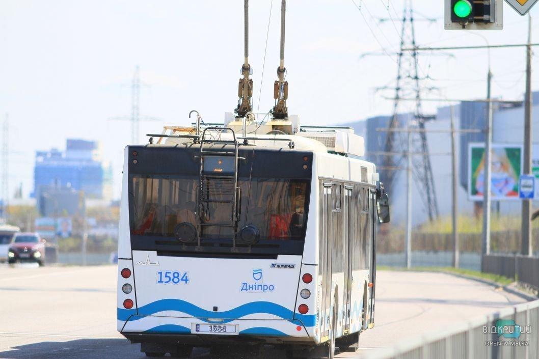 Послабление карантина: как будут работать трамваи и троллейбусы с 12 мая в Днепре