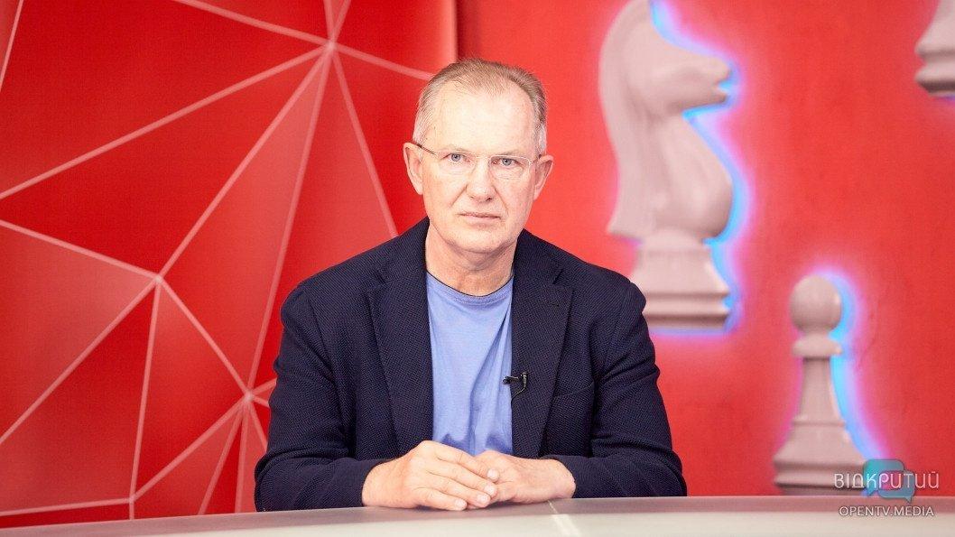 Сергій Риженко про місто Дніпро — програма «Шах і мат»