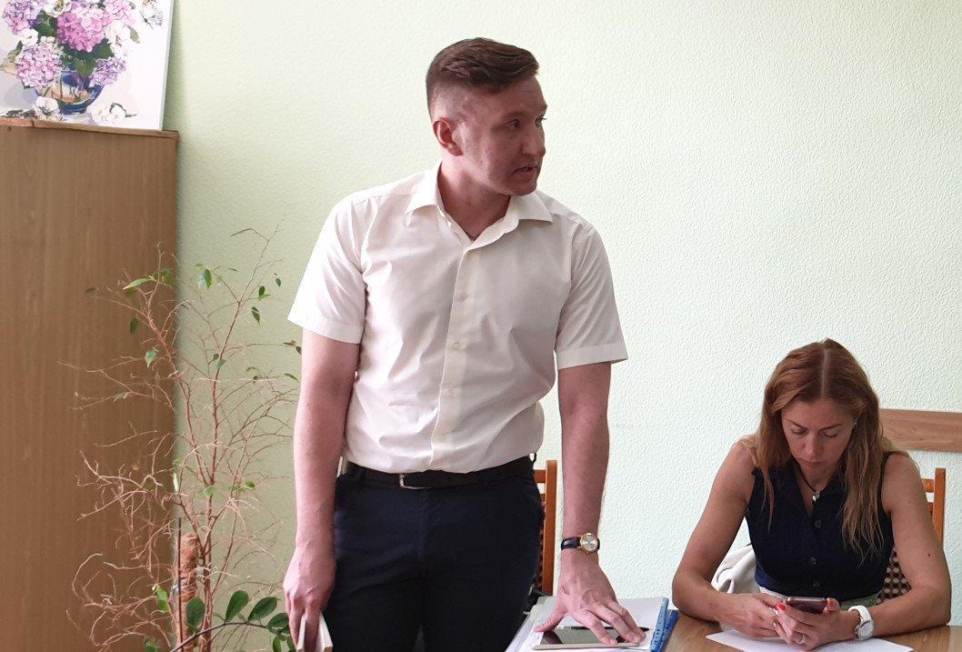 Predstaviteli VIROBNICHA STALNA KOMPANIYA i Aktabanka 1