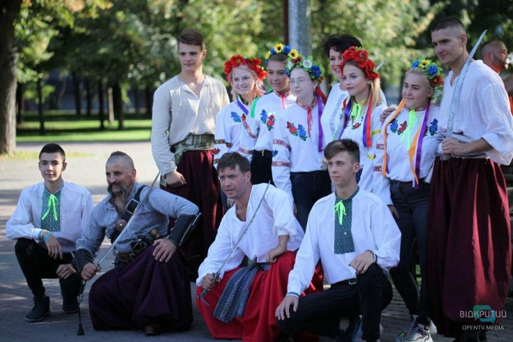 У Дніпрі вібдувся фестиваль козацьких традицій
