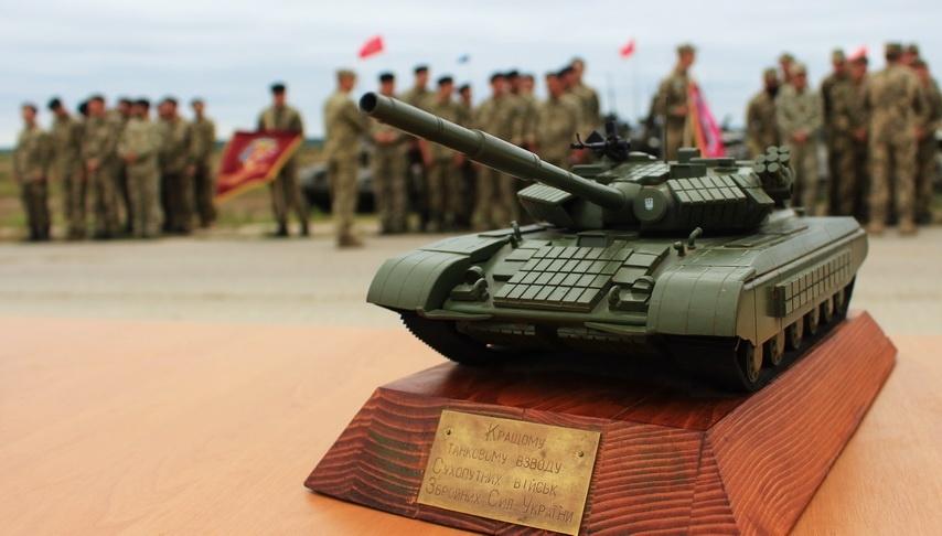 Танкісти Дніпропетровської області визнані одними з найкращих в Україні