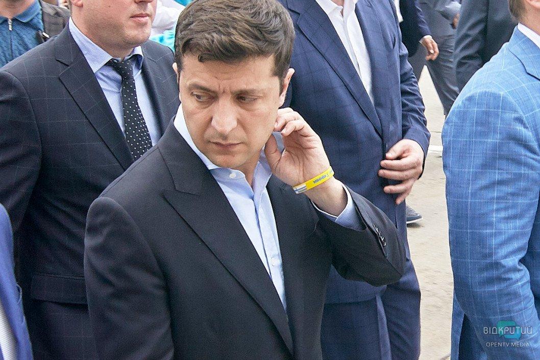 Зеленський звільнив голів 16-ти районних державних адміністрацій у Дніпропетровській області