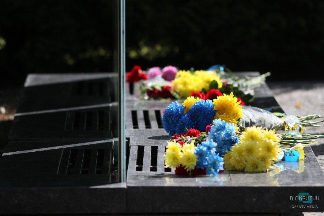 У Дніпрі вшанували полеглих під Іловайськом захисників України