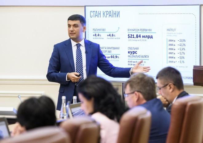 Прем'єр-міністр України прогнозує зарплати по $600