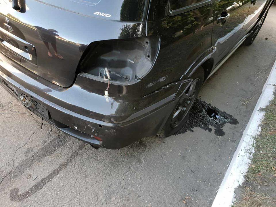 У Дніпропетровській області вибухнуло авто начальника відділення поліції