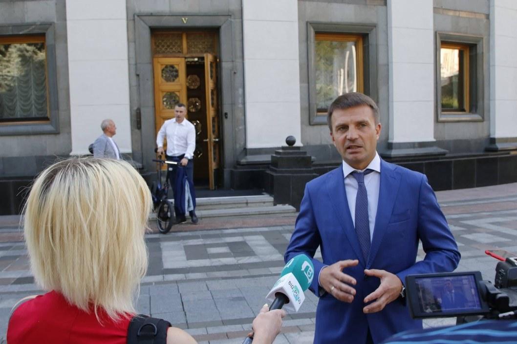 Гліб Пригунов взяв участь в першому засіданні Верховної Ради