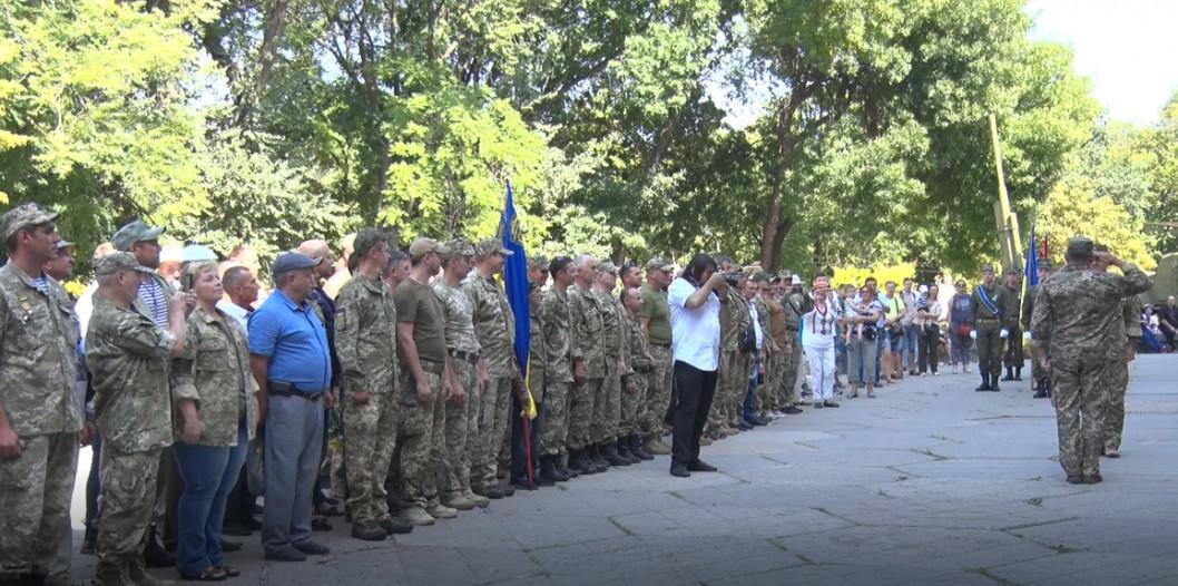 У Дніпрі на День Незалежності відсвяткували річницю 43-го батальйону «Патріот»