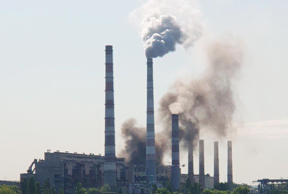 «Приднепровская ТЭС, та вы зае... затравиливесь город», — эко-активисты