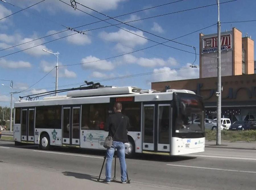 В Дніпрі завершують монтаж  тролейбусної лінії маршруту №14