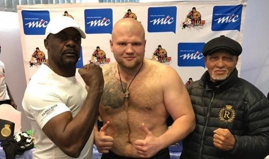 Боксер-важкоатлет із Кривого Рогу втретє здобув перемогу на професійному рингу