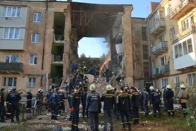 У Дрогобичі Львівської області обвалився житловий будинок