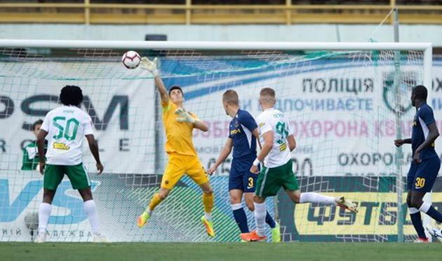 Дніпро-1 зіграв із Ворсклою внічию у матчі Прем'єр-ліги України