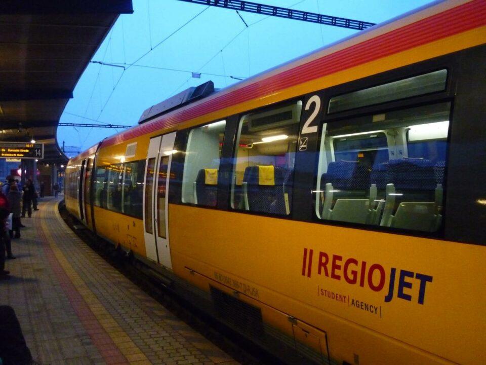 Чеський перевізник планує запустити потяг з України до Чехії