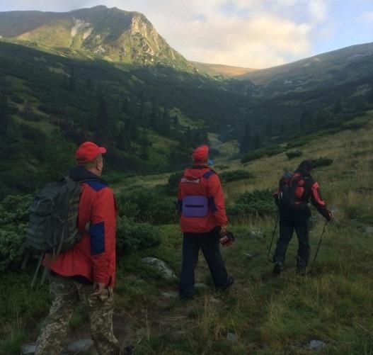Туристу з Кривого Рогу стало зле у горах Закарпаття