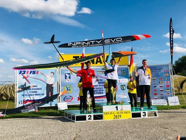 Українець здобув «золото» на Чемпіонаті світу з авіамодельного спорту