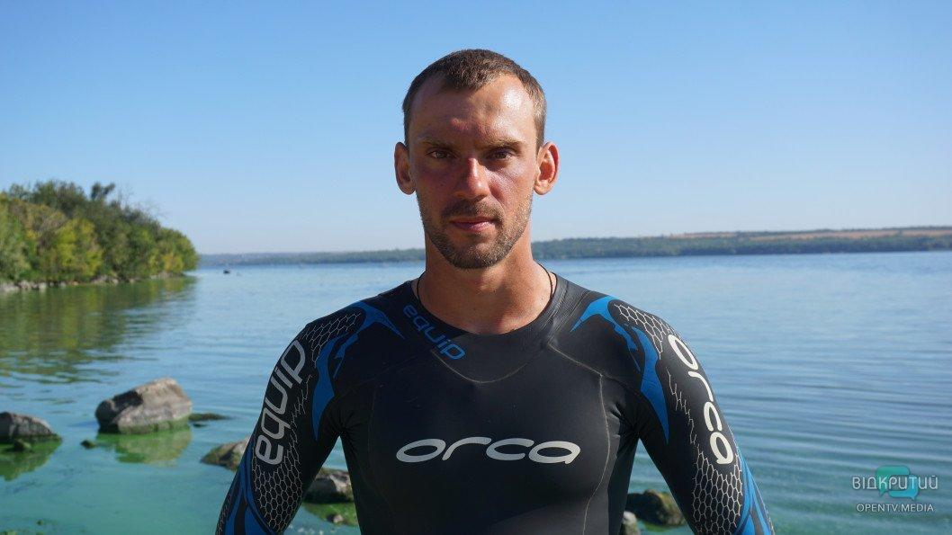 Рекордний заплив: український спортсмен хоче проплисти Дніпром 830 кілометрів