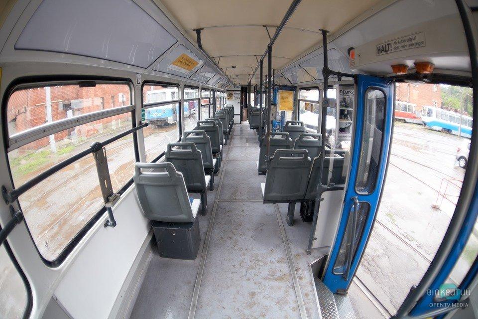 В Днепре один из трамваев будет ходить по сокращенному маршруту