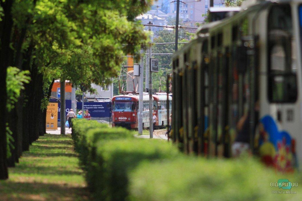 22 серпня у Дніпрі зміниться графік роботи трьох трамвайних маршрутів