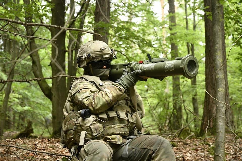 Військові з Дніпропетровської області тренуються на базі армії США