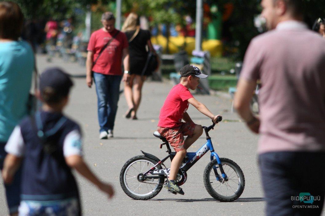 velosiped deti rebenok leto