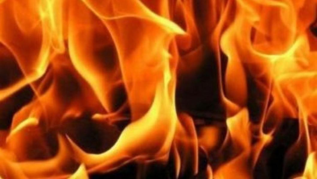 Ночной огонь: в Днепре произошёл пожар в частном доме (ФОТО)