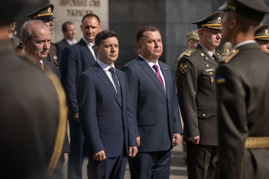 Зеленський взяв участь у вшануванні захисників, загиблих під Іловайськом