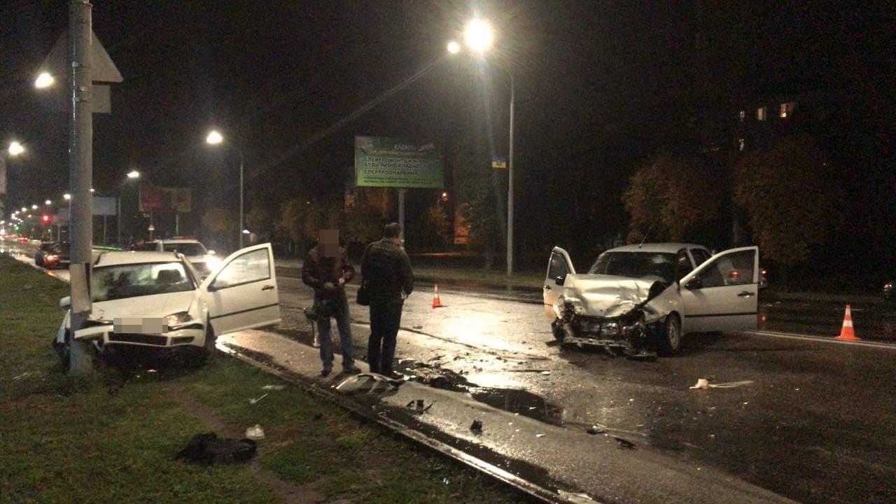 В Павлограде пьяный сотрудник полиции попал в ДТП