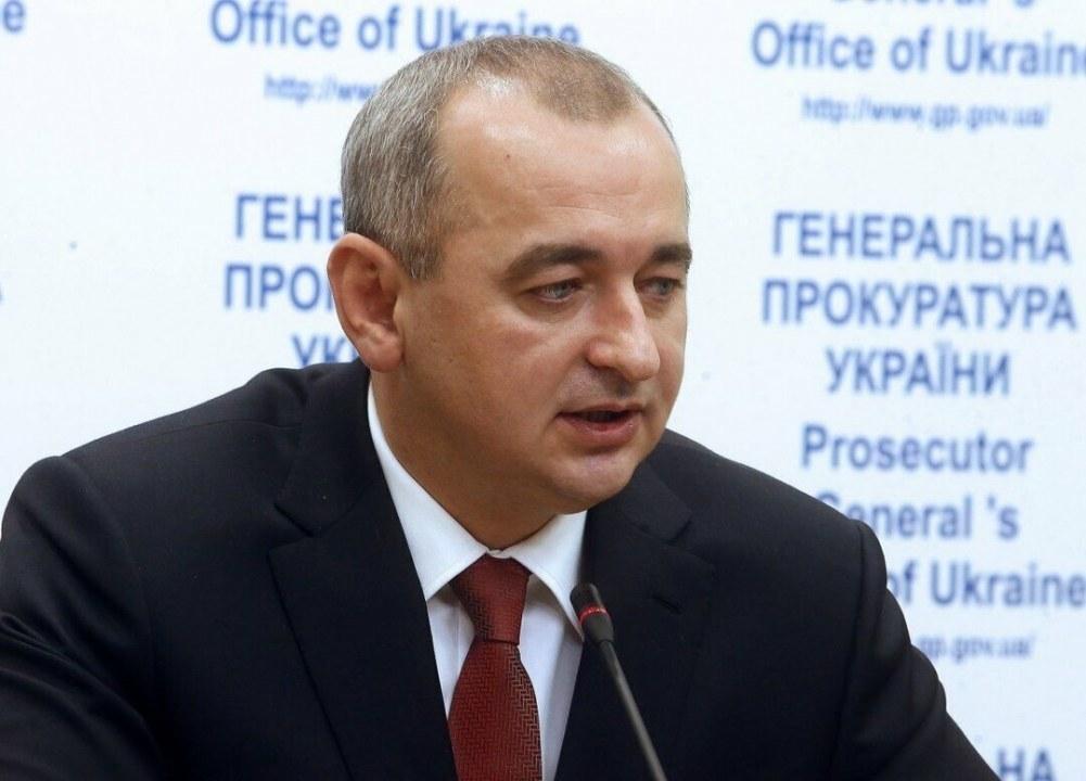 Рябошапка уволил главного военного прокурора Матиоса